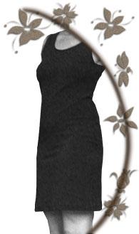 Figurbetontes kleid schnittmuster