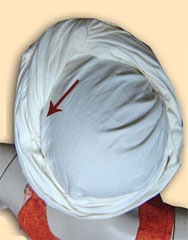 Turban binden 8